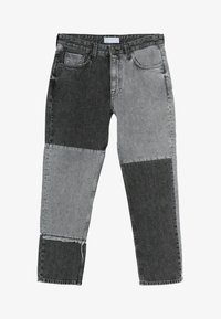Bershka - Jeans straight leg - grey - 4