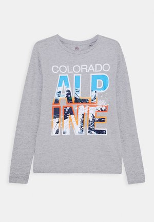 TEEN BOYS - Long sleeved top - grey melange