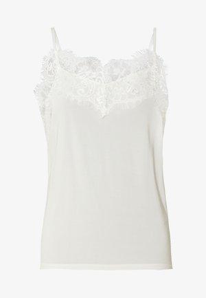 CLARA SINGLET - Topper - white