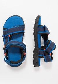 Jack Wolfskin - SEVEN SEAS 3 UNISEX - Chodecké sandály - blue/orange - 0