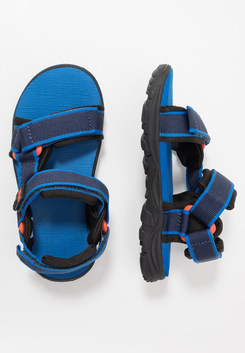 Jack Wolfskin - SEVEN SEAS 3 UNISEX - Chodecké sandály - blue/orange