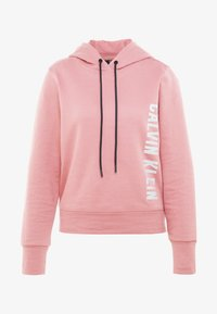 Calvin Klein Performance - HOODIE - Huppari - pink - 3