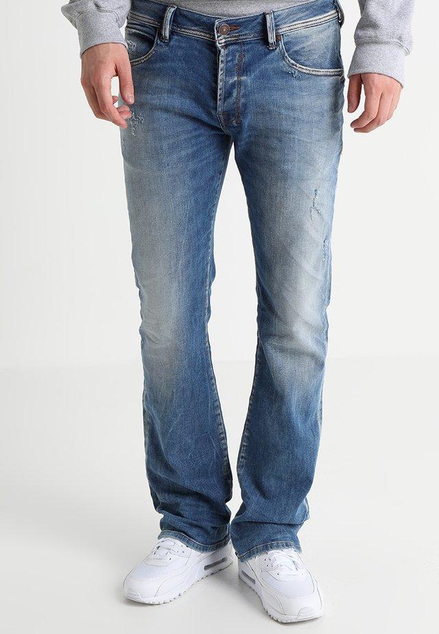 RODEN - Bootcut jeans - light blue denim
