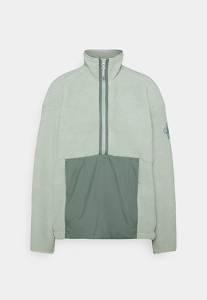 SNOWSHELTER - Fleece jumper - wrought iron/heather