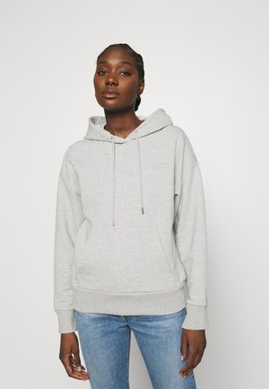 SLFARTISTA CAMILLE HOODIE - Hoodie - light grey melange