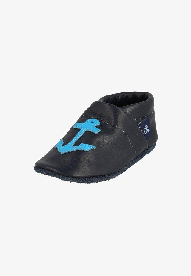 KINDERMODE - First shoes - blau / hellblau