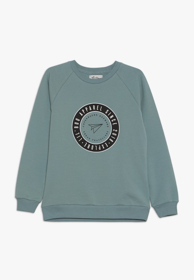 EXPLORE  - Sweatshirt - arctic green