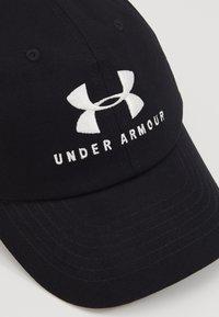 Under Armour - FAVORITE  - Bonnet - black/onyx white - 2