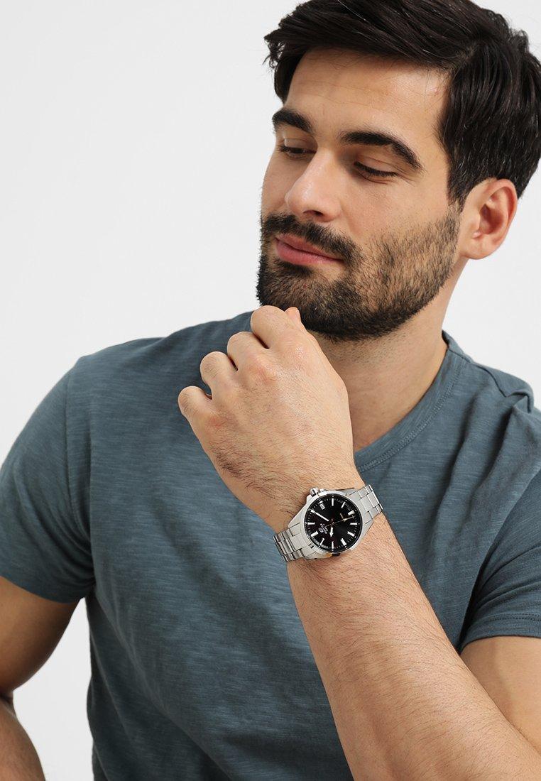 EDIFICE - Watch - silver-coloured/black