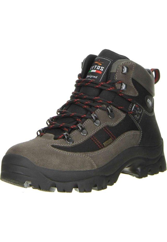 Hiking shoes - schwarz/braun