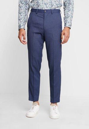 STAND ALONE BIRDSEYE - Pantalon - blue