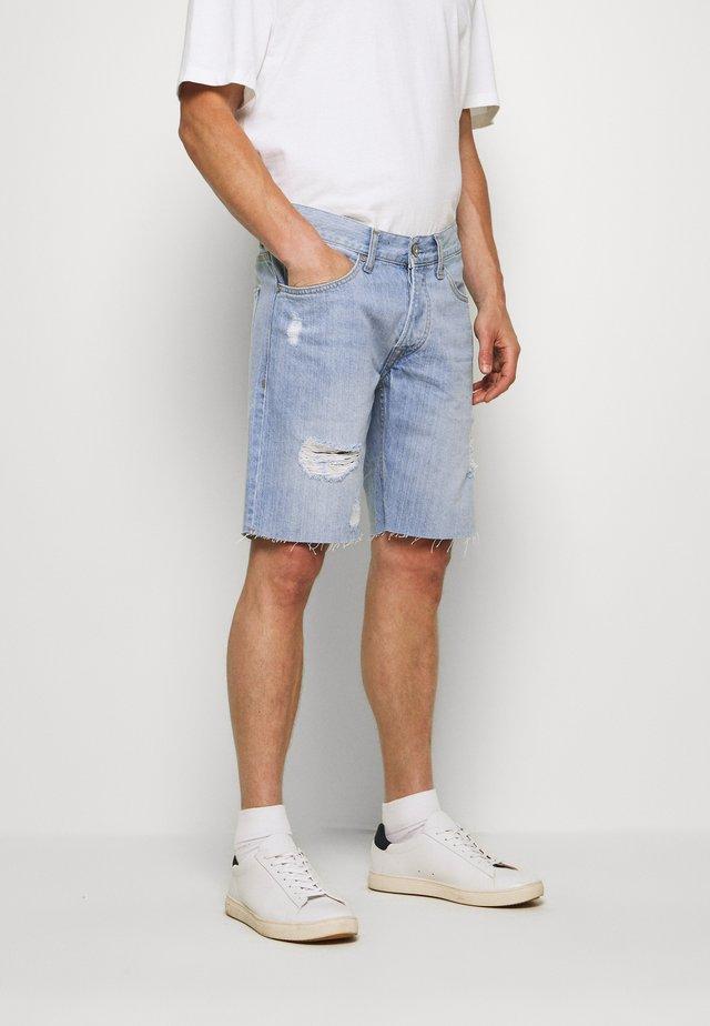 HARROW - Shorts di jeans - light blue
