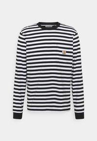 Carhartt WIP - SCOTTY POCKET - Long sleeved top - black/white - 4
