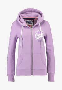 Superdry - Zip-up hoodie - purple - 4
