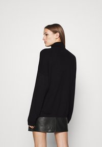 Zign - SOFT TURTLE NECK - Jumper - black - 2