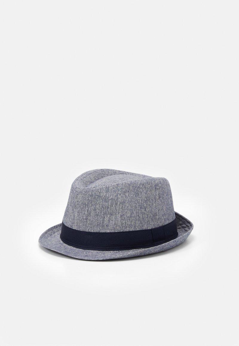 Burton Menswear London - TEXTURE TRILBY SMART - Sombrero - navy