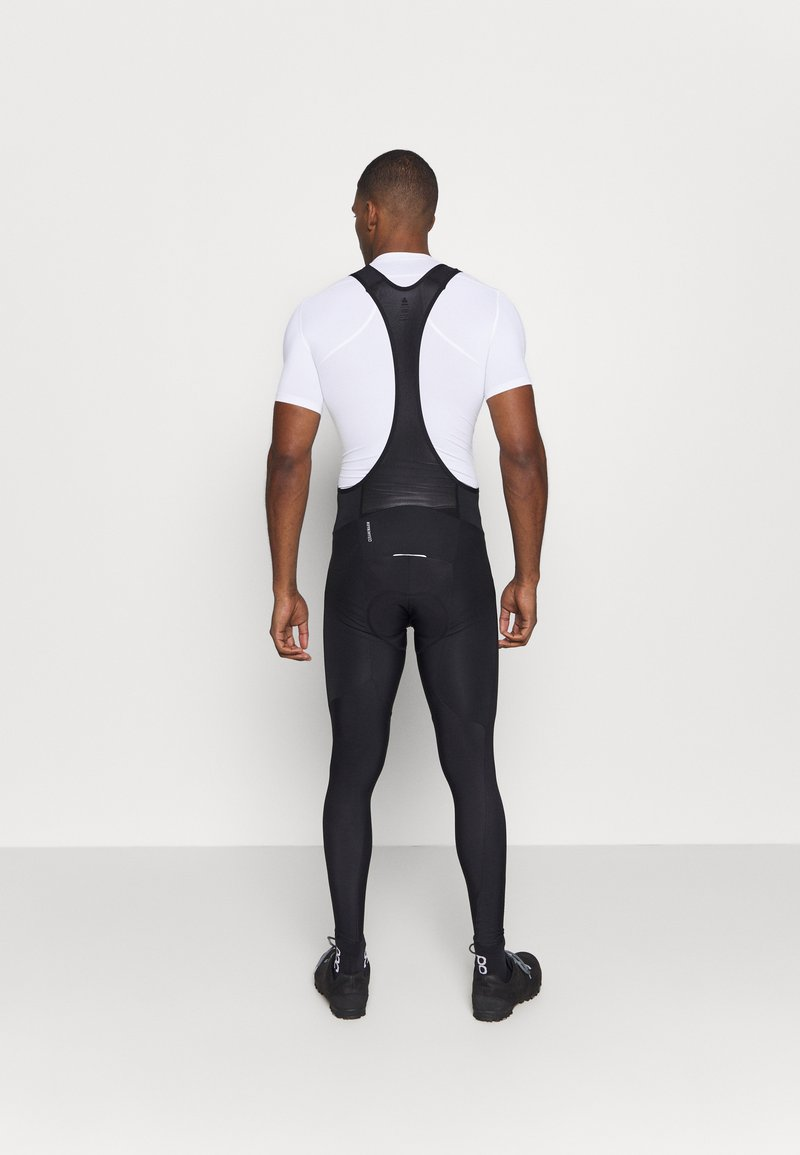 ODLO Mens Tights Suspenders Zeroweight Ceramiwarm