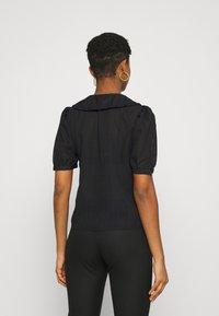 JDY - JDYLAURE COLLAR SHIRT - Button-down blouse - black - 2