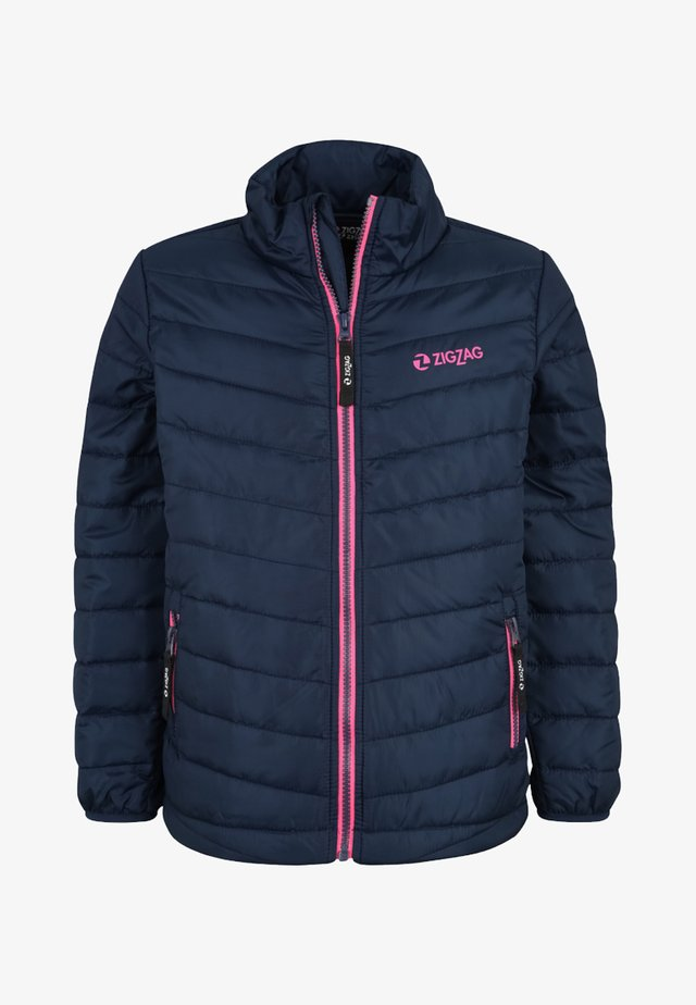 MIT WÄRMENDER WATTIERUNG - Winter jacket - navy
