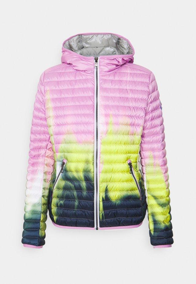 Gewatteerde jas - pink