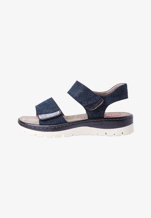 Sandales - navy/glitter