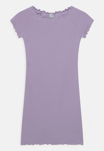 DRESS STINA - Jersey dress - light lilac