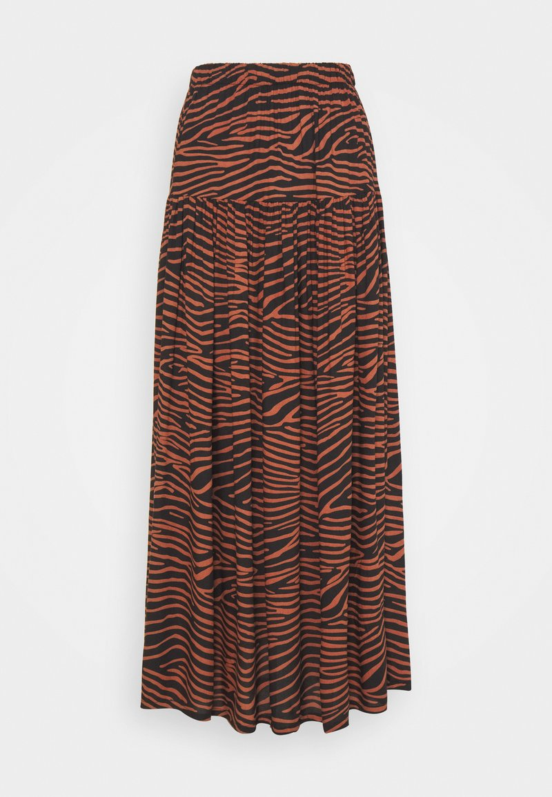 LASCANA - ZEBRA - Maxi skirt - multi-coloured