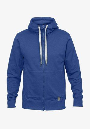 Zip-up sweatshirt - blue