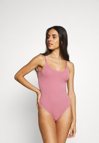 Anna Field - 3 PACK - Body - white/black/pink - 3