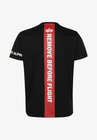 Alpha Industries - Print T-shirt - black - 1