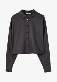 PULL&BEAR - Overhemdblouse - black - 4