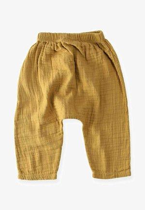 Trousers - mustard yellow