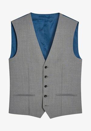 SIGNATURE PLAIN SUIT: WAISTCOAT - Kostymväst - gray