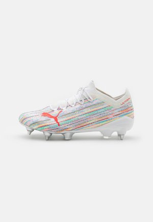 ULTRA 1.2 MXSG - Screw-in stud football boots - white/red blast/silver