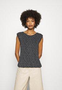 Opus - T-Shirt print - simply blue - 0