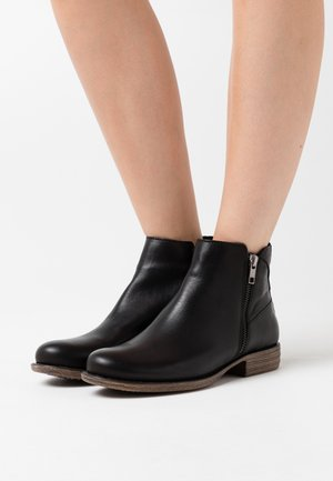 LEATHER  - Ankelboots - black