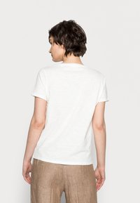 Opus - SOI MIND - Print T-shirt - milk - 2