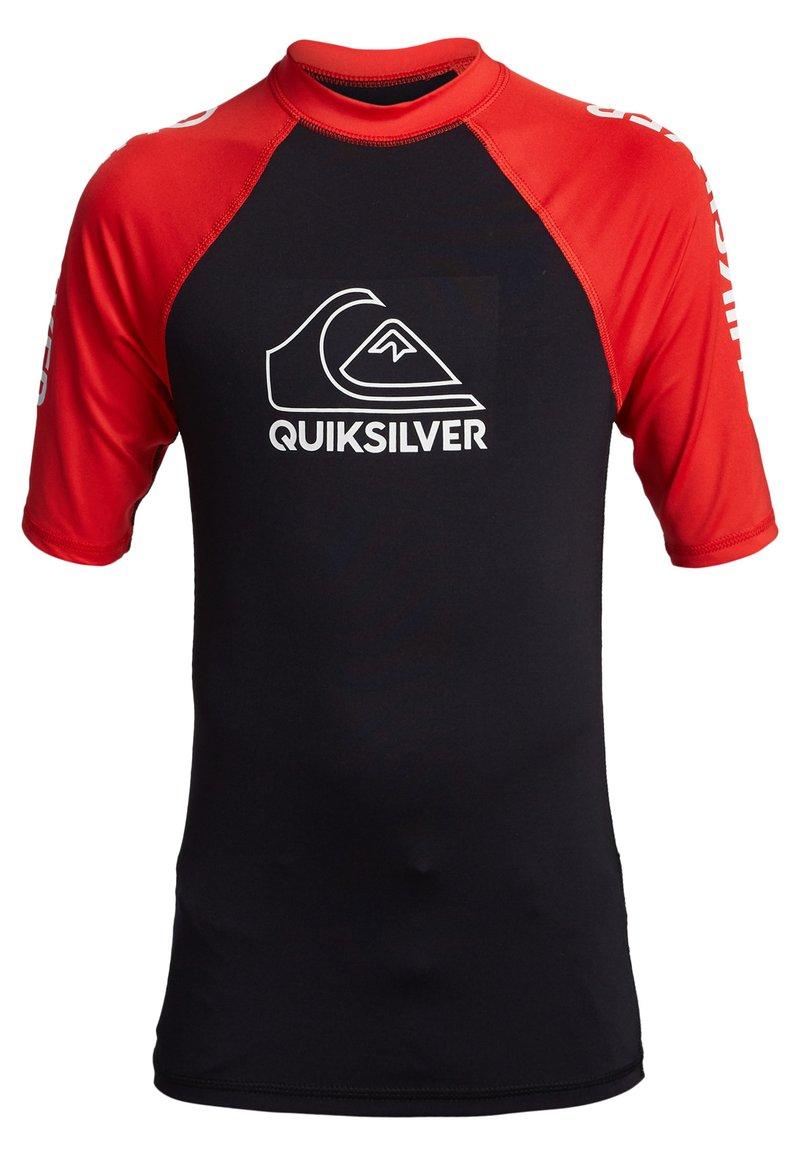 Quiksilver - ON TOUR YOUTH - Rash vest - high risk red