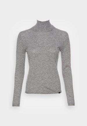 VIELHALF TURTLE SEAMLESS WOMAN - Jumper - grey melange