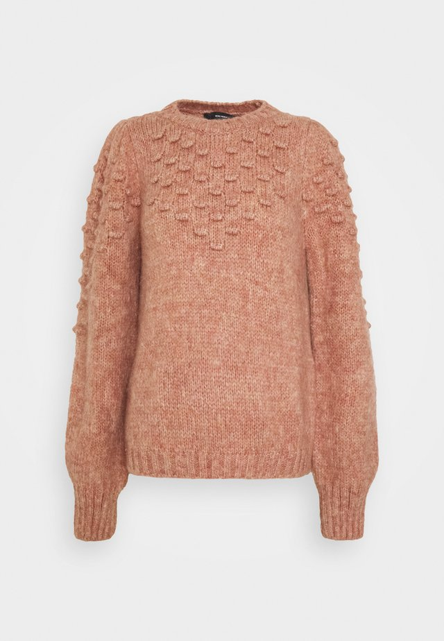 VMWOODIE O NECK - Jumper - old rose