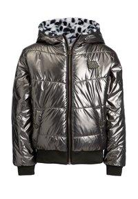 WE Fashion - WATER REPELLENT REVERSIBLE - Kurtka zimowa - black - 2