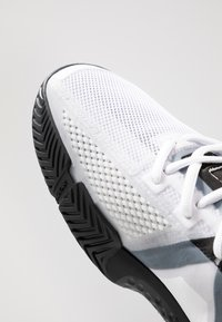 adidas Performance - SOLEMATCH BOUNCE - Clay court tennis shoes - footware white/core black - 5