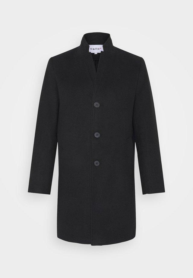 SUGLORY - Cappotto corto - black