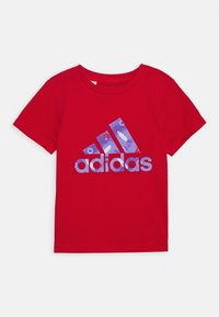 adidas Performance - TEE - Print T-shirt - red/blue - 1