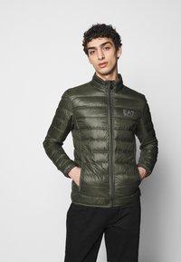 EA7 Emporio Armani - Down jacket - khaki - 0