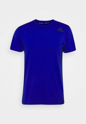 ALL ME DESIGNED TRAINING AEROREADY SLIM - T-shirts basic - bold blue