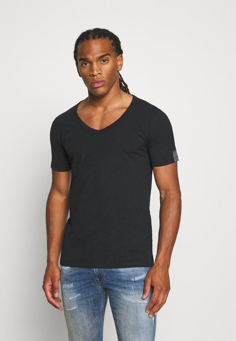 Replay - Basic T-shirt - off black