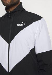 Puma - RETRO TRACKSUIT - Tracksuit - black - 6
