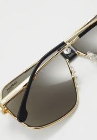 Carrera - Sluneční brýle - gold-coloured/black - 3
