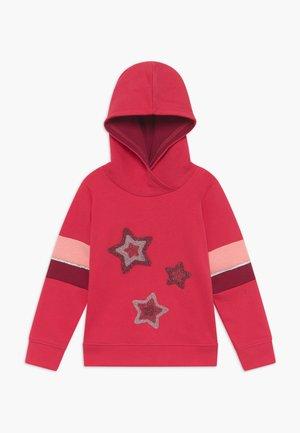 KIDS STARS HOODIE - Felpa con cappuccio - hochrot